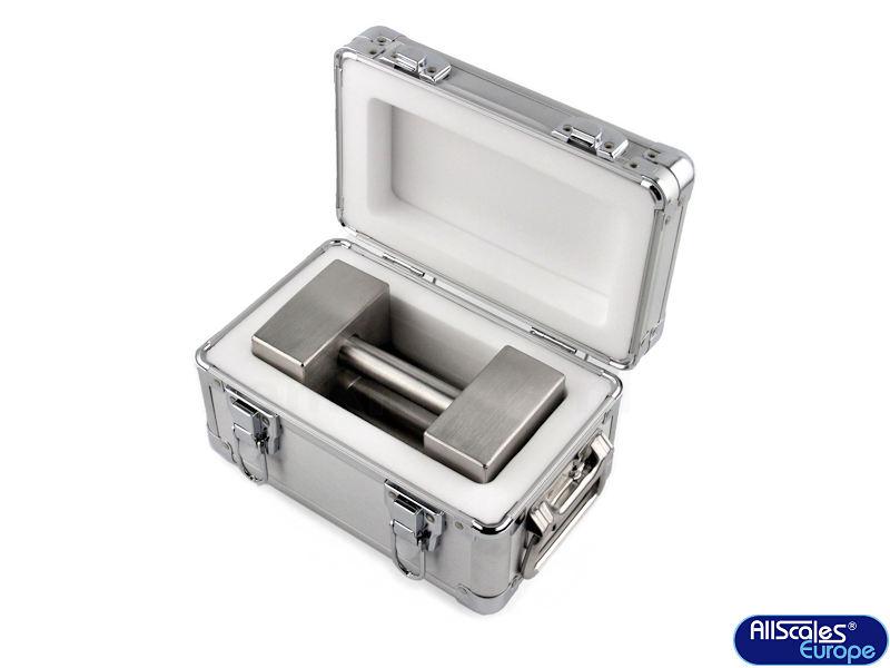 RVS-kalibratiegewicht-20kg-in-koffer 2