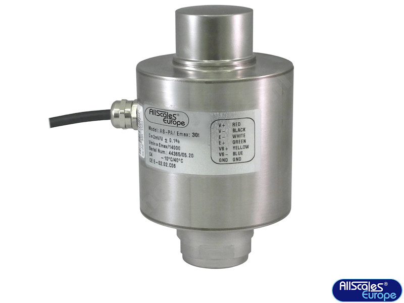 AS-PA-30t compression load cell